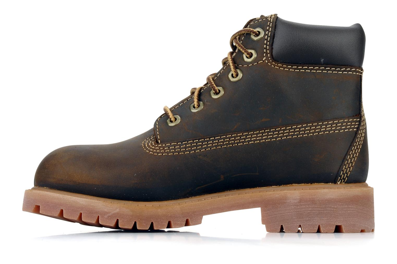 Bottines et boots Timberland 6 In Waterproof Boot Marron vue face