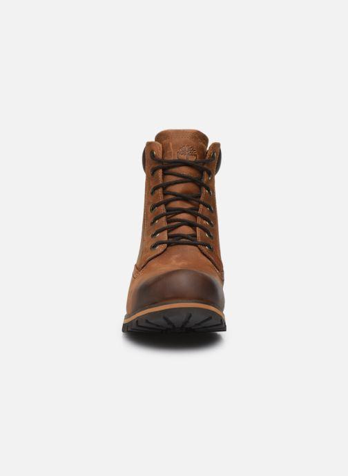 Boots en enkellaarsjes Timberland Earthkeepers rugged 6 plain toe boot Bruin model