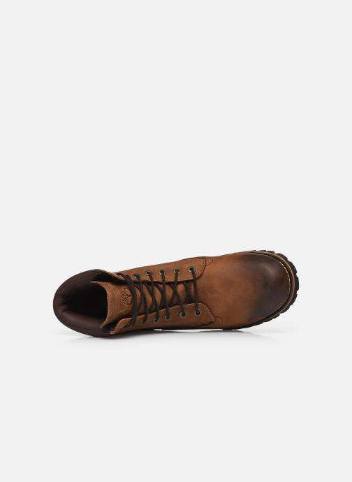 Boots en enkellaarsjes Timberland Earthkeepers rugged 6 plain toe boot Bruin links