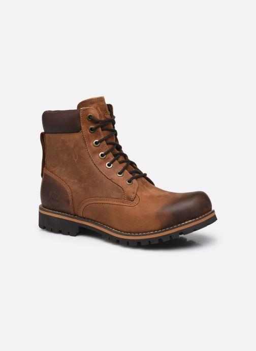 Boots en enkellaarsjes Timberland Earthkeepers rugged 6 plain toe boot Bruin detail