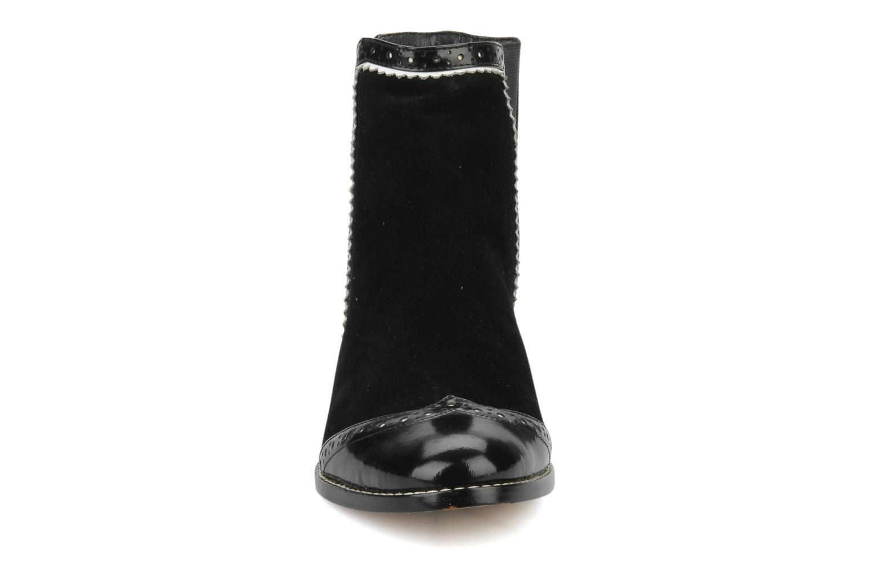 Bottines et boots C.Petula Thelma Noir vue portées chaussures