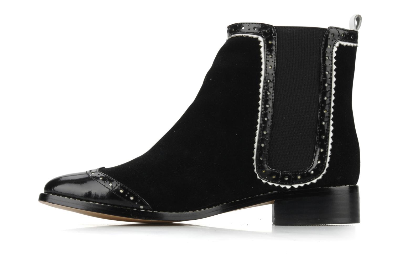 Bottines et boots C.Petula Thelma Noir vue face