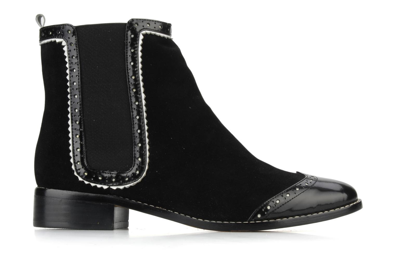 Bottines et boots C.Petula Thelma Noir vue derrière