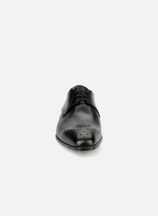 Chaussures à lacets Santoni Marlone 11020 Noir vue portées chaussures
