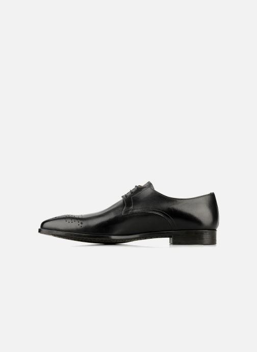 Lace-up shoes Santoni Marlone 11020 Black front view