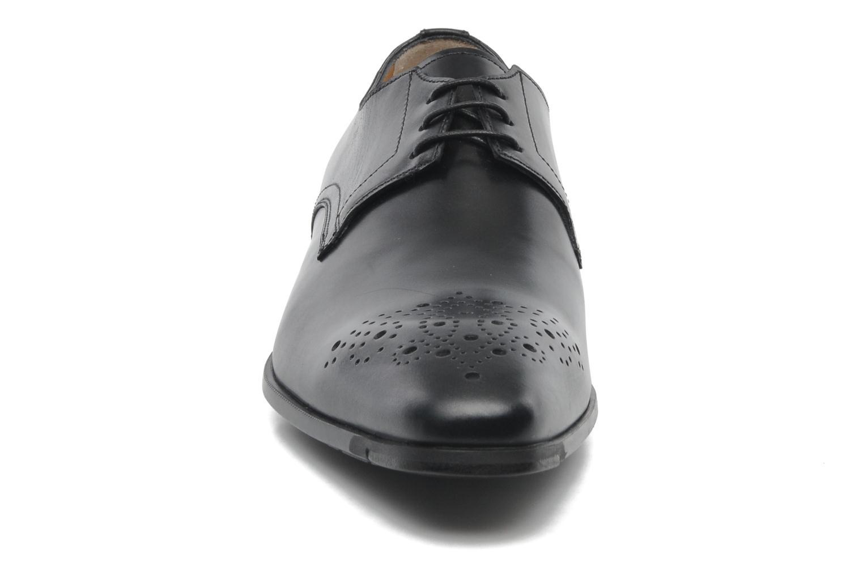Zapatos con cordones Santoni Marlone 11020 Negro vista del modelo