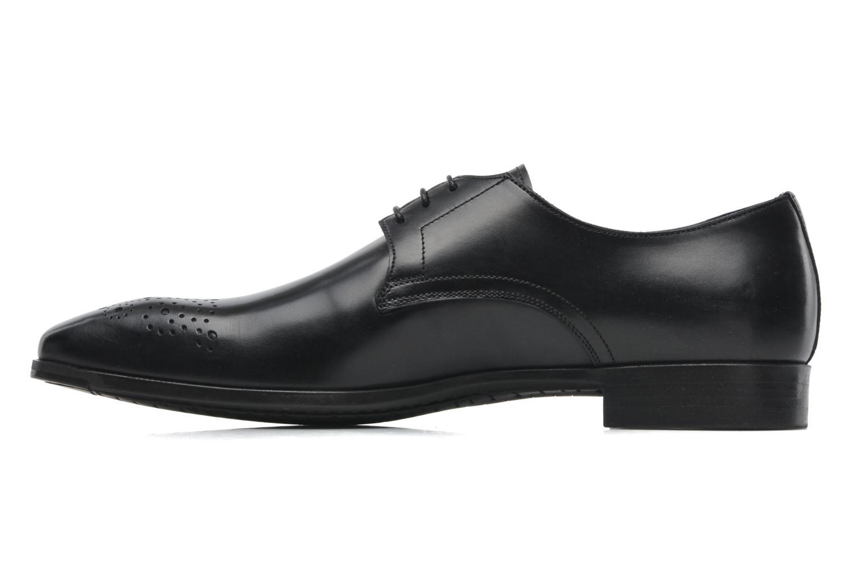 Zapatos con cordones Santoni Marlone 11020 Negro vista de frente