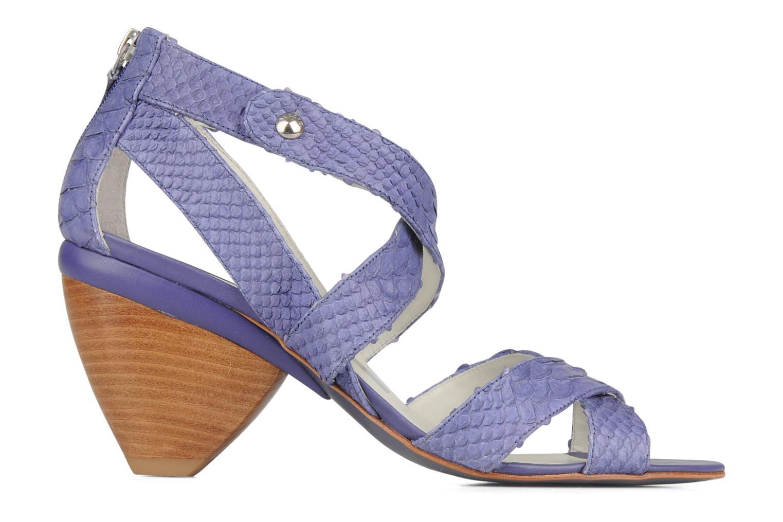 Sandales et nu-pieds Miezko Lina Violet vue derrière