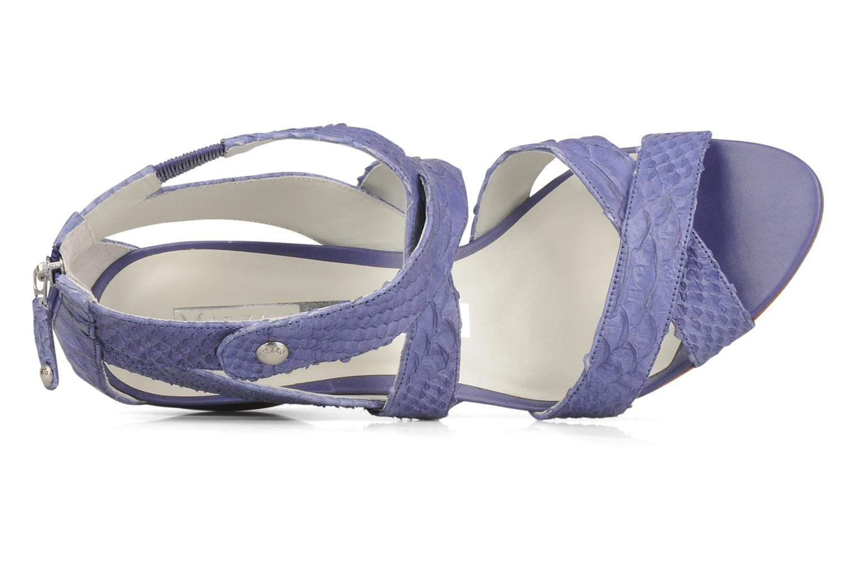 Sandales et nu-pieds Miezko Lina Violet vue gauche