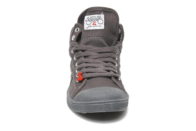 Baskets Le temps des cerises LC Basic 03 Gris vue portées chaussures