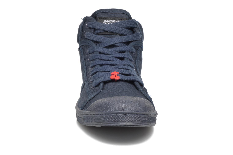 Baskets Le temps des cerises LC Basic 03 Bleu vue portées chaussures