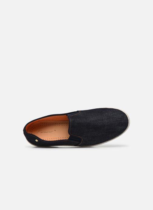 Scarpe di corda Rivieras Jean m Azzurro immagine sinistra