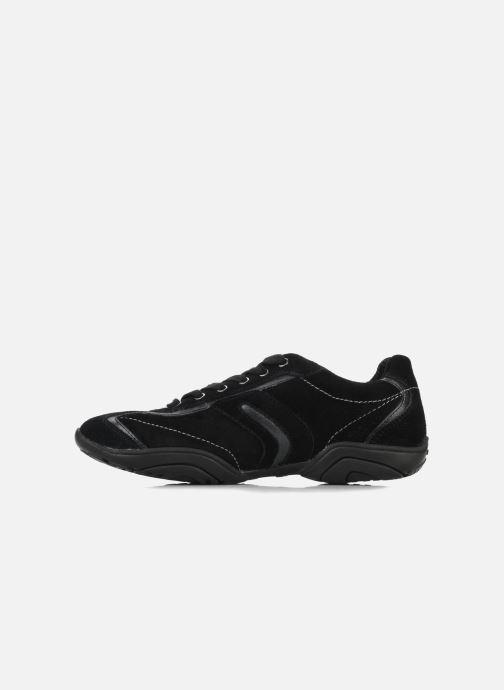 Sneaker Geox D ARROW D1320F schwarz ansicht von vorne