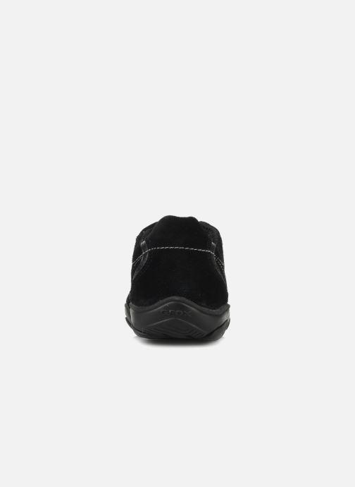 Sneaker Geox D ARROW D1320F schwarz ansicht von rechts