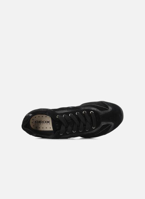 Sneaker Geox D ARROW D1320F schwarz ansicht von links