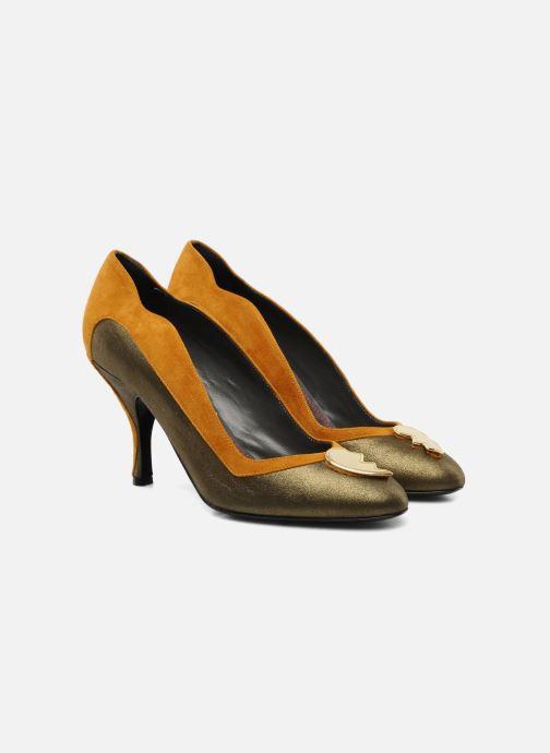 Zapatos de tacón Amelie Pichard Isabella r Marrón vista 3/4