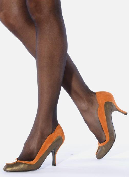 Zapatos de tacón Amelie Pichard Isabella r Marrón vista de abajo