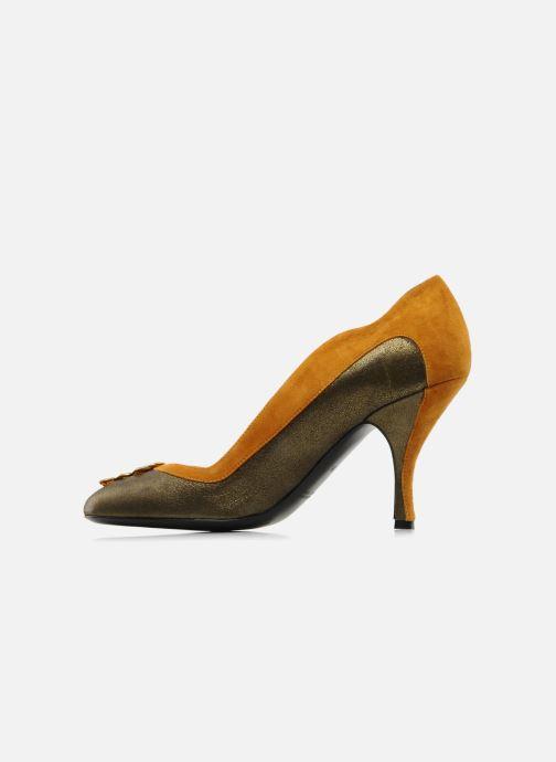 Zapatos de tacón Amelie Pichard Isabella r Marrón vista de frente
