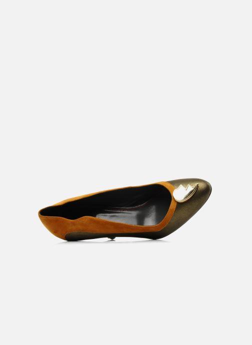 Zapatos de tacón Amelie Pichard Isabella r Marrón vista lateral izquierda