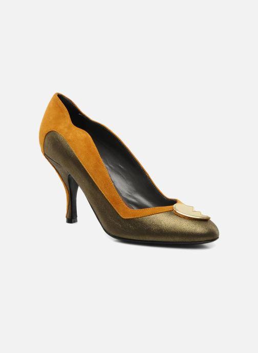 High heels Amelie Pichard Isabella r Brown detailed view/ Pair view