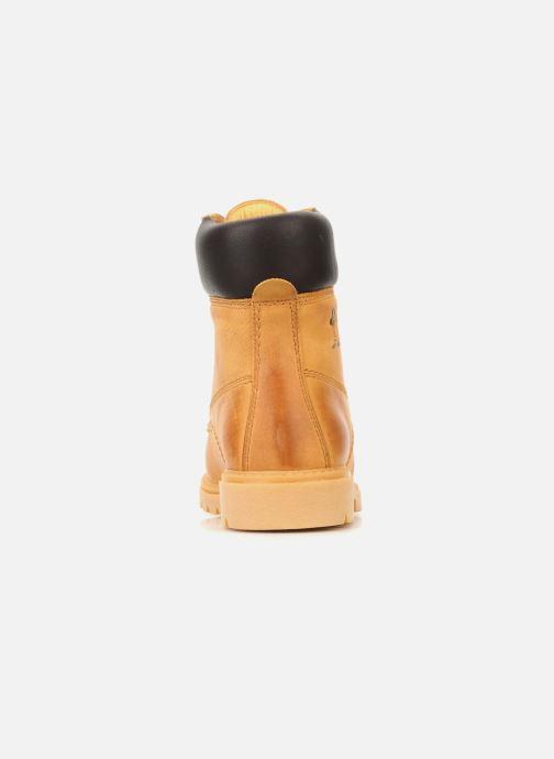 Bottines et boots Panama Jack Panama 03 Jaune vue droite