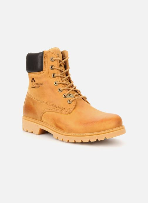 Bottines et boots Panama Jack Panama 03 Jaune vue détail/paire