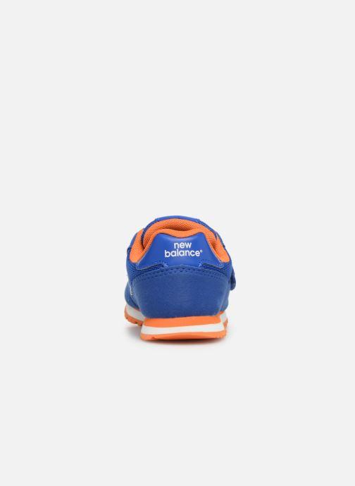 Baskets New Balance Kv373 Bleu vue droite
