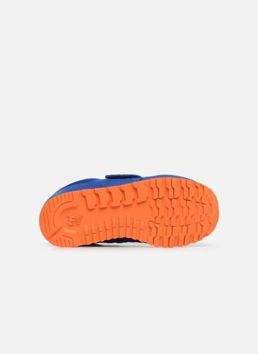 Baskets New Balance Kv373 Bleu vue haut
