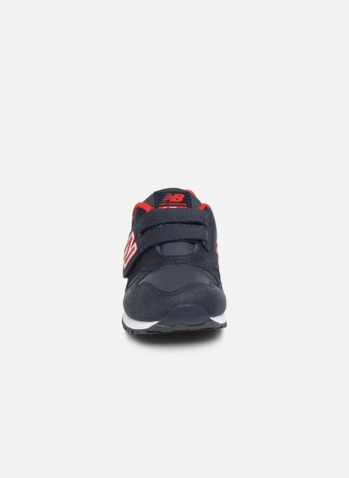 Baskets New Balance Kv373 Noir vue portées chaussures