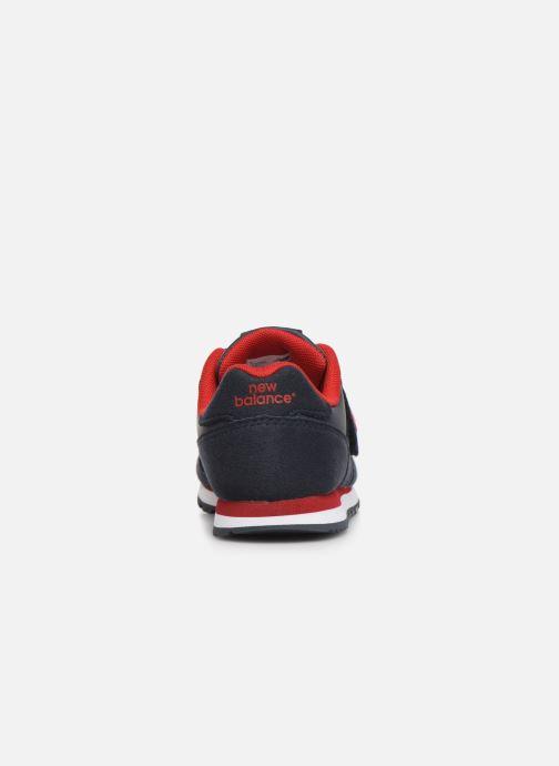 Sneakers New Balance Kv373 Blå Se fra højre