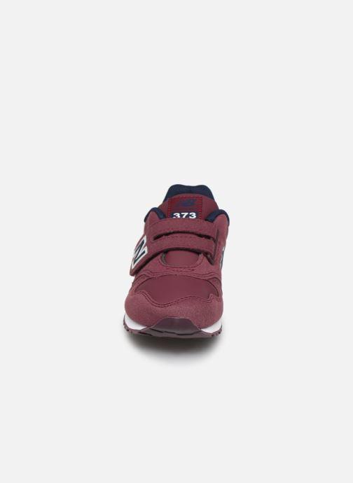 Sneaker New Balance Kv373 weinrot schuhe getragen