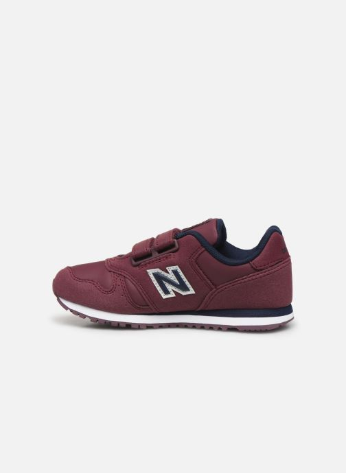 Sneakers New Balance Kv373 Bordeaux voorkant