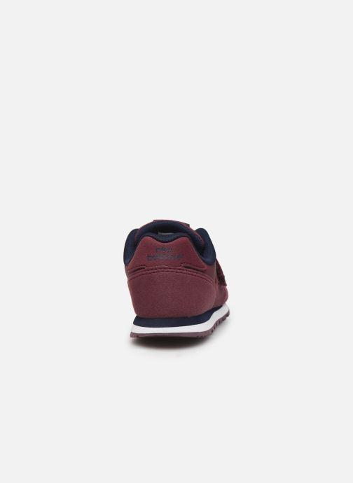 Sneaker New Balance Kv373 weinrot ansicht von rechts