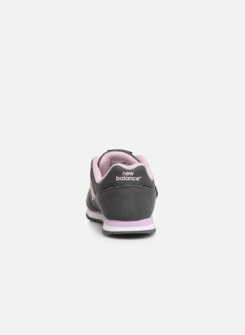 Sneaker New Balance Kv373 grau ansicht von rechts