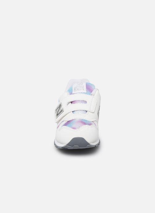 Baskets New Balance Kv373 Blanc vue portées chaussures