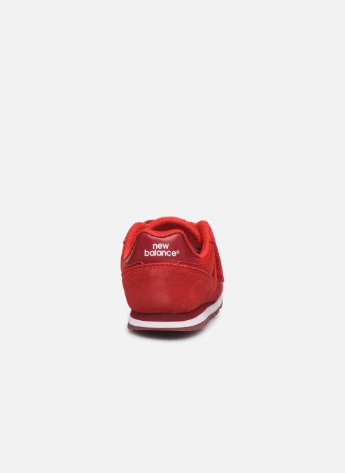Sneakers New Balance Kv373 Rood rechts