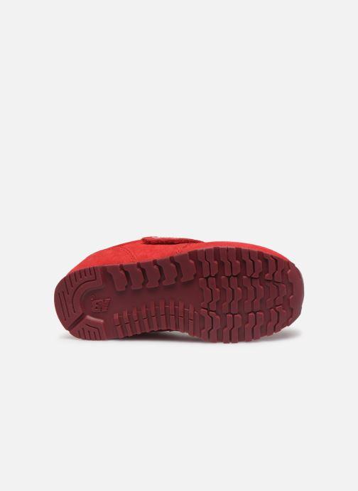 Baskets New Balance Kv373 Rouge vue haut