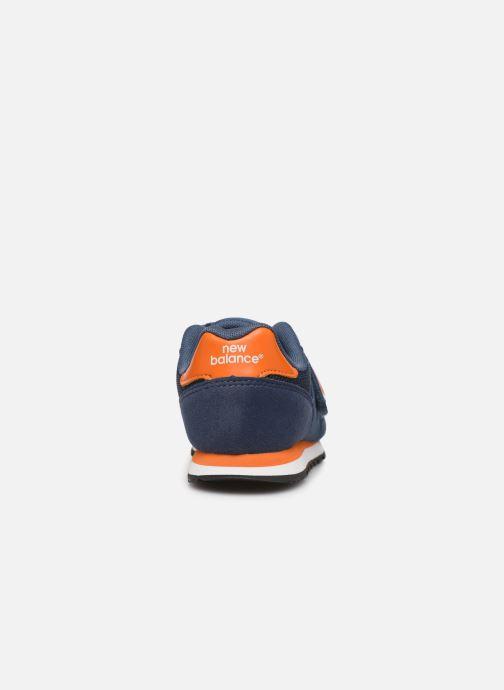 Sneakers New Balance Kv373 Blauw rechts