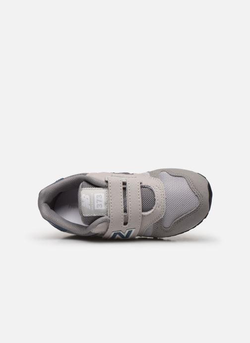 Sneaker New Balance Kv373 grau ansicht von links