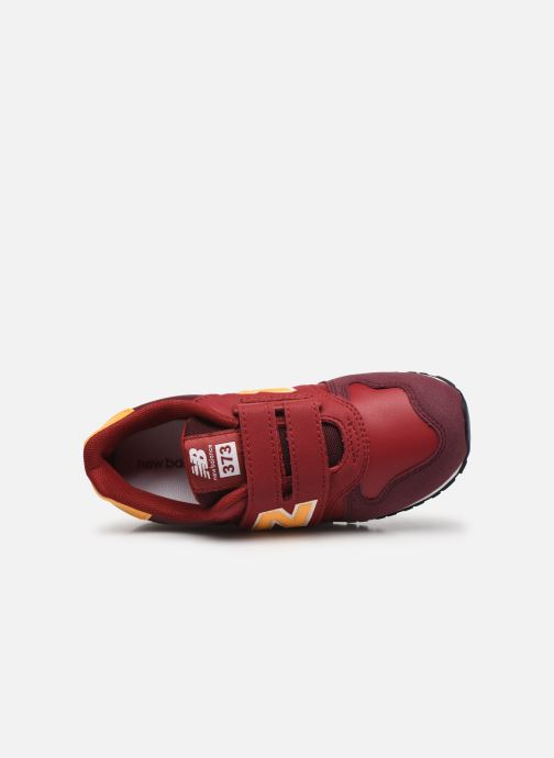 Baskets New Balance Kv373 Rouge vue gauche