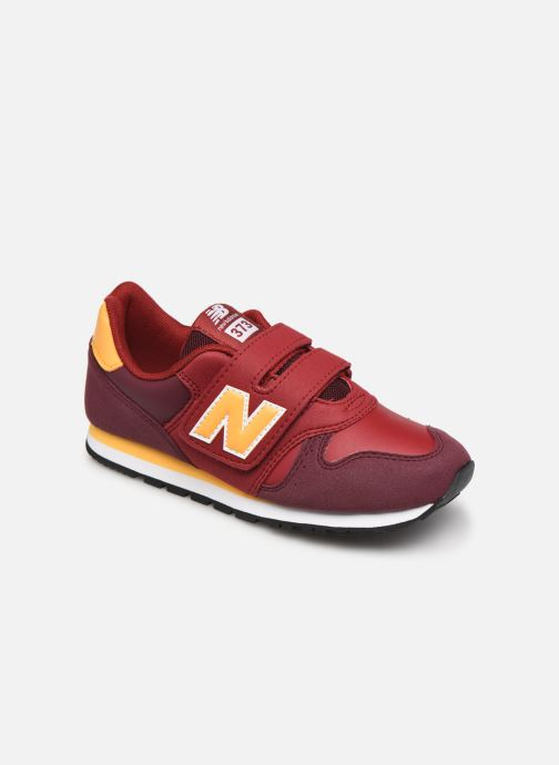 Baskets New Balance Kv373 Rouge vue détail/paire