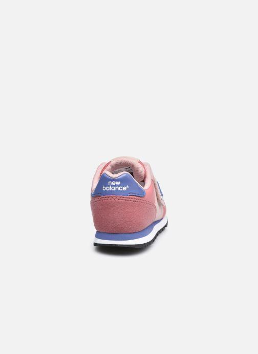 Sneaker New Balance Kv373 rosa ansicht von rechts