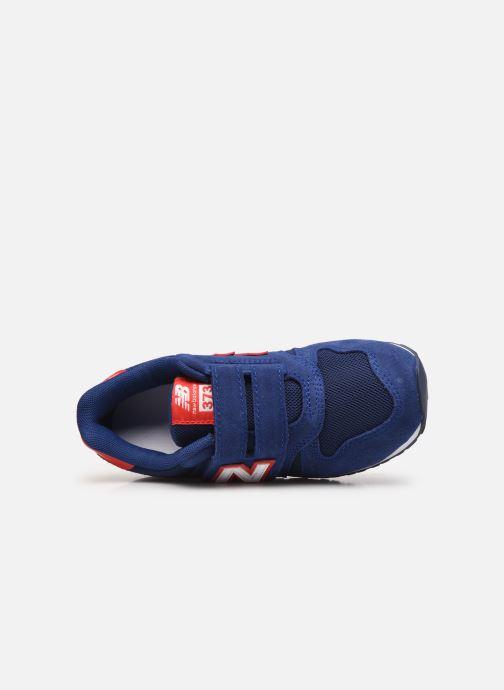 Sneaker New Balance Kv373 blau ansicht von links