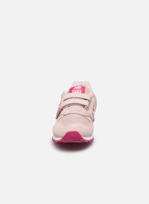 Sneaker New Balance Kv373 rosa schuhe getragen