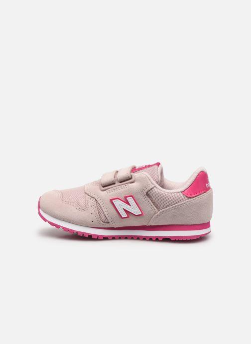 Sneaker New Balance Kv373 rosa ansicht von vorne