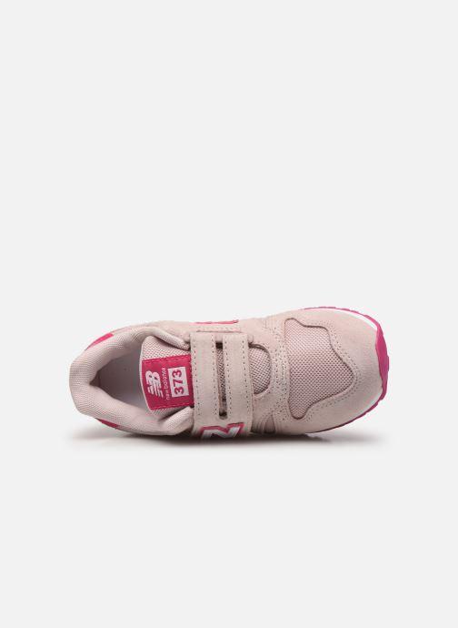 Sneaker New Balance Kv373 rosa ansicht von links