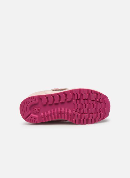 Sneaker New Balance Kv373 rosa ansicht von oben
