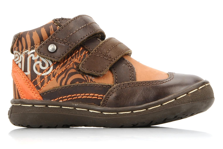 Chaussures à scratch Kickers Maellig Marron vue derrière