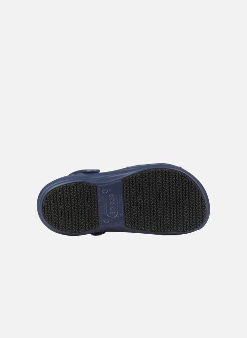 Zoccoli Crocs Bistro w Azzurro immagine dall'alto