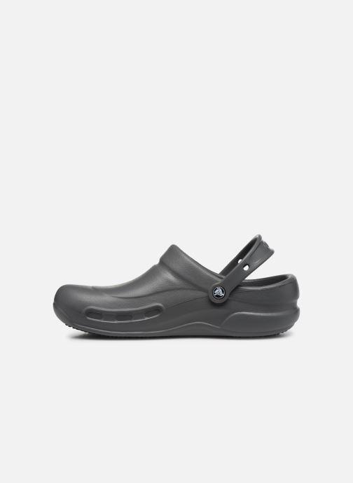 Sandales et nu-pieds Crocs Bistro m Gris vue face